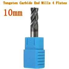 HRC50 10MM Tungsten Carbide End Mill 4 Flute 75MM Length Milling Cutter CNC Tool