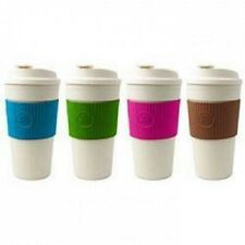 Cool Gear Travel Coffee Mug Cup BPA Free 15 FL Oz with 4 Colors Choices