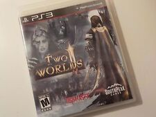 Two Worlds II for Playstation 3 (PS3 2011) disc excellent