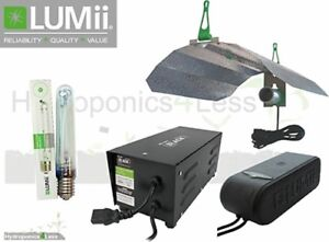 LUMII COMPACTA 600W 400W MAGNETIC BALLAST GROW LIGHT KIT HYDROPONICS SUNBLASTER