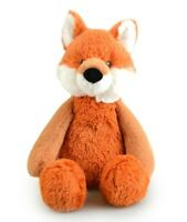 FRANKIE & FRIENDS FOX PLUSH SOFT TOY 28CM STUFFED ANIMAL BY KORIMCO - BNWT