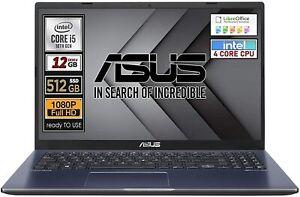 Asus Vivobook, SSD M2 da 512 Gb Intel i5 di 10TH Gen.4 Core 12Gb  READY TO USE
