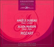 ANGŠLE DUBEAU & ALAIN MARION PERFORM MOZART USED - VERY GOOD CD