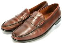 Cole Haan City Pinch $120 Men's Penny Loafers Shoes Size 11.5 Leather Brown