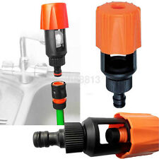 Garden Lawn Water Tap Hose Pipe Connector Fitting Adapter Nozzle Universal UK