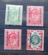 Bechuanaland 1904 values to 1s LMM Fresh Condition