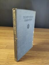 The New Hudson Shakespeare 1916 Antique Vintage School Book Romeo & Juliet