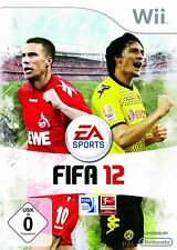 Nintendo Wii Game FIFA 12 Original Packing Without Manual #a