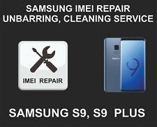 Samsung IMEI Repair Service, Unbarring, Cleaning, Samsung Galaxy S9, S9 Plus, Al
