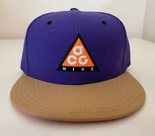 Nike ACG All Conditions Gear Adjustable Hat Purple Brown Orange Black White NEW!