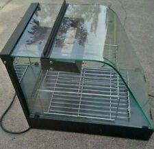 Food Pizza Desert Bakery Countertop Glass Lighted Display Case Heavy Duty