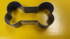 "3"" Dog Bone Metal Cookie Cutter 2308-1311 Wilton Blue Dog Biscuits Scrapbooking"