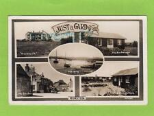 Multi View Morston Nr Blakeney Anchor Pub Bungalows RP pc used 1955 Bell Ref C56