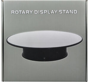 10 Inch Rotary Display Stand For 1/18 1/24 1/64 1/43 Model Cars With Mirror Top