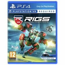 RIGS: Mechanised Combat League Sony Playstation PS4 PSVR Game