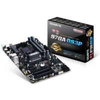 GIGABYTE 970A-DS3P AMD 970A SOCKET AM3+ DDR3 MOTHERBOARD WITH 4 MEMORY SLOTS