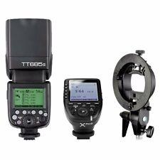 Godox TT685S TTL HSS Blitz Blitzgeräte + XPro-S Trigger Für Sony + Blitzhalter