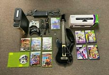 Xbox 360 Bundle Console, 11 Games, 2 Controllers, Kinect, New Guitar Hero Live