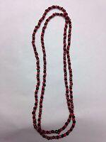 SPIRITUAL BEADED NECKLACE (ELEKES) FOR THE ORISHA ELEGUA / ELEGGUA / ESU