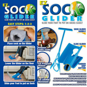 SOCK GLIDER. PUT ON TAKE OFF SOCKS EASY FOR LIMITED MOVEMENT & EASE HELP NEW