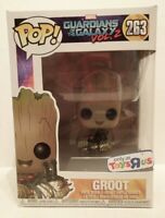 Funko POP 263 Guardians of The Galaxy Baby Groot with Bomb Toys R Us Exclusive
