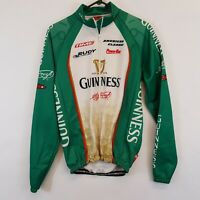 Capo Team Guinness Thermal Cycling Jersey Jacket Mens L Rudy Maxxis Italy Made