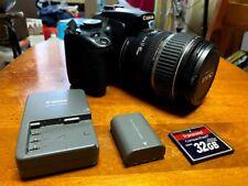 Canon EOS Rebel XTi Digital 400D SLR Camera w/ 17-85mm Lens - read description!