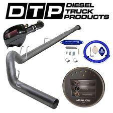 "Spartan NGauge DPF Delete 5"" Exhaust Ford Powerstroke Diesel 6.7L 13-16 EGR S&B"