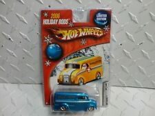 Hot Wheels 2006 Holiday Rods Blue Dairy Delivery w/RR's