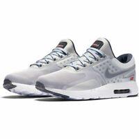 NEW Nike Air Max Zero QS Metallic Silver size 12 Men's Style 789695 002 Sneakers