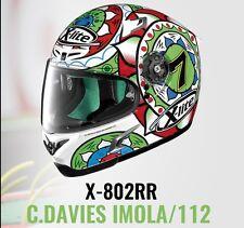 X-Lite X-802RR Davies Imola Motorcycle Full Face Helmet