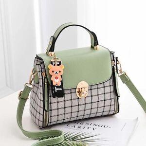 Fashion Faux Leather Handbags Shoulder Messenger Crossbody Satchel Women Tote