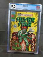 Silver Star # 1 1st Appearance of Silver Star CGC 9.0 VF/NM White Pages!!!