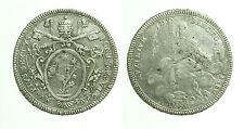 pcc1655_3) Stato Pontificio Pio VI (1775_1799) Scudo Romano 1780 A VI