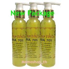 3X Over White AHA 70% Body Serum, For Dark skin White&Lightening bleaching Spot
