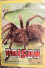 NATIONAL GEOGRAPHIC POISON RARE DELETED DVD OOP NATURE ANIMAL DOCUMENTARY