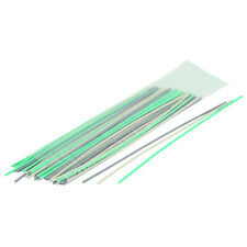 50 Piece Plastic Welding Rods using gray PVC plastic & green PC PP rods and more