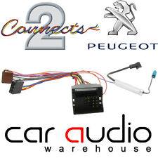 Connects2 CT20PE04 Peugeot 207 04> Car Stereo Radio ISO Harness Adaptor Wiring