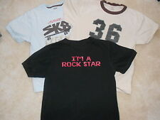 Lot of 3 Preowned Gymboree Short Sleeve Tops Size 10