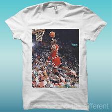 "Camiseta ""Michael Jordan Baloncesto ""Blanco The Happiness Es Han My Nuevo"