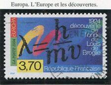 STAMP / TIMBRE FRANCE OBLITERE N° 2879 ONDE DE LOUIS DE BROGLIE