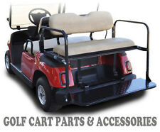 Yamaha G16-22 Golf Cart Rear Flip Seat Kit (1995-2006)  *TAN SEAT CUSHIONS*