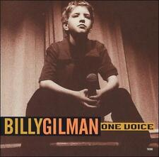 BILLY GILMAN - ONE VOICE & TIL I CAN MAKE IT ON MY OWN rare Single cd COUNTRY