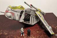 Star Wars Republic Gunship (used) w/ 2 Clone Pilots