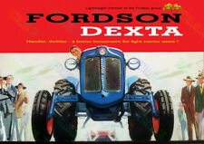 Fordson Dexta Advertising Poster (A3)