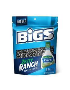 BIGS Hidden Valley Ranch Sunflower Seeds, 5.35-Ounce Bags (Pack of 12)