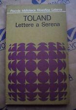 LETTERE A SERENA - TOLAND - LATERZA (1977)