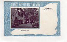 GUY'S CLIFF MILL, WARWICK: Great Western Railway postcard (C23852)