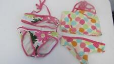 GYMBOREE Popsicle Party Dots Daisy Delightful 2 2pc Swimsuit Bathing Suit 5 TL9