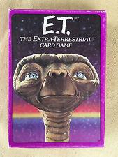Vintage Parker Brothers E.T. ET Extra Terrestrial Card Game